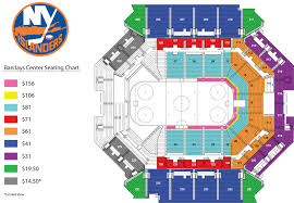 Barclays Center Seating Chart Hockey Barclay Concert Seating Chart