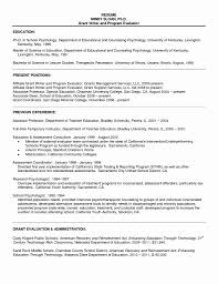 Example Of Resume For Graduate School Graduate School Resume Examples Fresh Resume Examples Resume For 6
