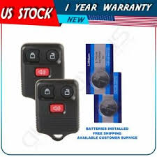 Details About 2pcs Replacement Keyless Entry Remote Control Car Key Fob Clicker Transmitter