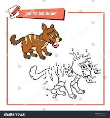 Small Picture Dot Dot Numbat Educational Kid Game Stock Vector 404843179