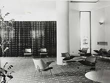 royal festival hall lounge chairs in foyer 1951