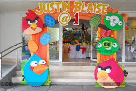 angry birds theme stage decoration (7)