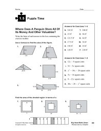 Puzzle Time Math Worksheets. Math Worksheets ...