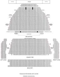 Tpac Johnson Theater Seating Chart 54 Paradigmatic Nashville Performing Arts Center Seating Chart