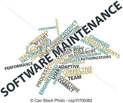 software maintenance abstract word cloud for software maintenance with related tags and