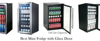 mini fridge glass door best mini fridge with glass door review of small glass front compact mini fridge glass door