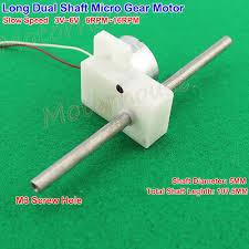 Gearmotors DC 6V~<b>12V</b> 35RPM-<b>70RPM</b> Micro <b>Metal</b> Gearbox Gear ...