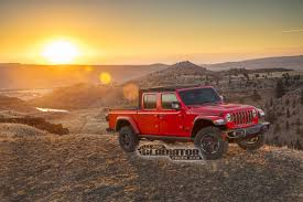 2020 Jeep Gladiator Pickup Truck Leaks Online, Coming With Manual ...