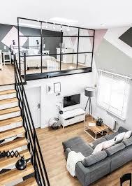Interior Design New Apartment Pinterest Loft Interior And Unique 1 Bedroom Loft Minimalist Collection
