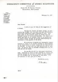 Solicitation Letter Donor Solicitation Letter Written By Albert Einstein On Behalf Of