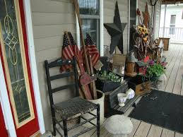 Primitive Decorating Primitive Home Decorating Ideas For The Porch Celebrate Summer