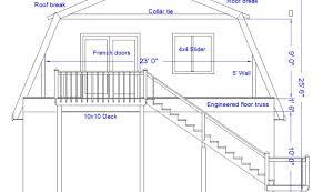 Gambrel Barn Builders  DC BuildersGambrel Roof Plans