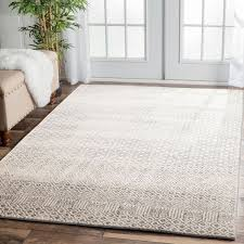 Designer Floor Rugs Dacca Transitional Grey Beige Designer Rug Transitional