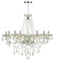 glass chandilier