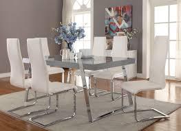dining room sets las vegas. Giovanni High Gloss Grey Dining Table Set Room Sets Las Vegas