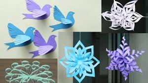 paper snowflakes 3d paper snowflake tutorial origami 3d gifts