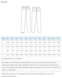 Pike Brothers Size Chart 1944 N1