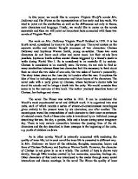 compare virginia woolf s novels mrs dalloway and the waves as the  page 1 zoom in