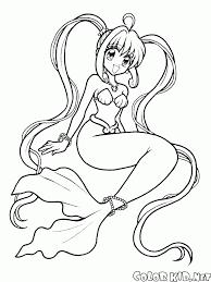 Disegni Da Colorare Barbie Sirena