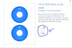 Avery 8942 How To Design A Dvd Label In Microsoft Word Hubpages