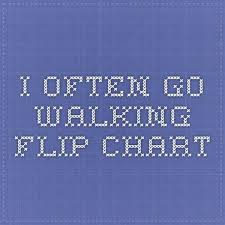 Primary Flip Charts I Often Go Walking Flip Chart Lds Primary Songs Primary