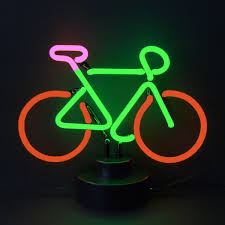 Bike Neon Lights Bicycle Neon Sculpture Neon Neon Signs Neon E Business