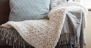 Super Chunky Crochet Blanket Pattern