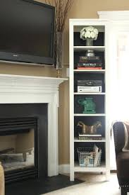 smlf how to hang tv over fireplace without studs mounting brick hiding wires the mount ideas wall