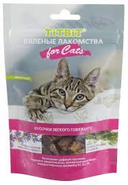 Купить <b>Лакомство для кошек Titbit</b> Вяленые лакомства Кусочки ...