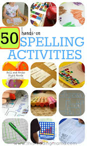 Free interactive exercises to practice online or download as pdf to print. 50 Hands On Spelling Activities For Phonics And Sight Words