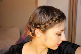 Short Fine Hair Style easy braided updo for short fine hair youtube 1069 by wearticles.com