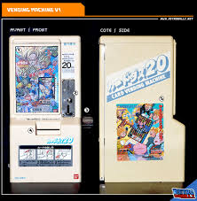 Card Vending Machine Awesome RetroballZ Carddass Vending Machine V48