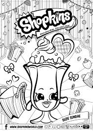 Shopkins Coloring Pages Season 2 Limited