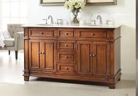 adelina 70 inch antique double bathroom vanity cream marble countertop