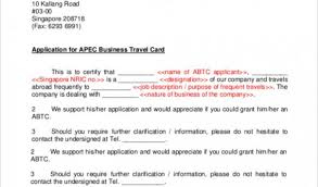 Renewal Of Apec Business Travel Card Find Your World