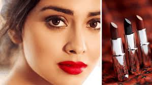 red lipsticks for brown s