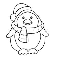 Small Picture Winter Penguin Who Is Steady And Cool Coloring Page Winter