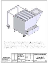 plasma cutting table plans. diy downdraft table. what does a miller plasma cutter cutting table plans