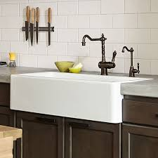 sinks 33 inch farmhouse sink white fireclay farmhouse sink wooden cabinet desk ceramic style cool