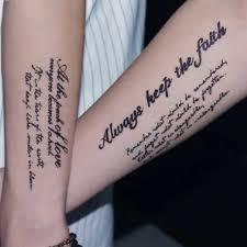 Hxman английские буквы водонепроницаемые временные татуировки стикер