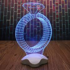 Amazing Optical Illusion 3d Luminous Transparent Micro Usb Led Night Light Lamp Walmart Com