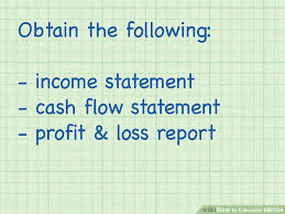 Online Cash Flow Statement Calculator How To Calculate Ebitda With Calculator Wikihow