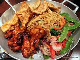 sides wontons lo mein stir fried vegetables en wings