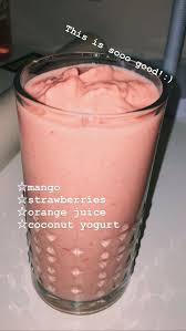 Pin by Aubrey Rice on food | Mango smoothie recipes, Easy healthy  smoothies, Fresh fruit smoothies