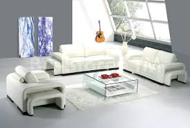 contemporary leather living room furniture. Contemporary Leather Living Room Furniture 6 Modern Set In White Sofa Chair And I