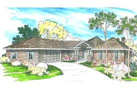 luxury sloping lot house plans or front sloping lot house plans house house plan front sloping