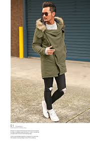 mods coat men fur food batting d m 51 n 3b military bitter bitter system winter coat jacket outer longus wade refined thick winter clothing