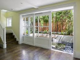 glass door decoration ideas