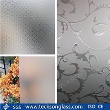china 3 12mm acid etched home design