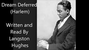 dream deferred harlem langston hughes poem example of harlem dream deferred harlem langston hughes poem example of harlem renaissance literature